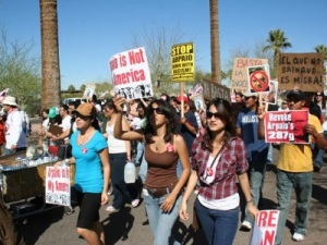 Raza Youth Protesting Against Joe Arpaio